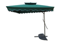 Patio Umbrella-Side Pole-Pull Push-2.2M-Green