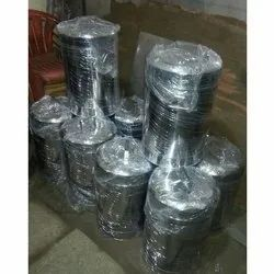 Silver Ss Stainless Steel Container, Capacity: 10 Kg, for Home