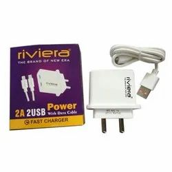 Riviera 2USB Mobile Charger