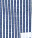 Blue And White Stripe 100% Cotton Fabric