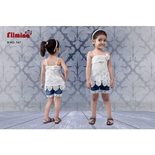 04dd3dcfccf8d Designer Kids Hot Pant and Top at Rs 700 /piece | Kids Tops | ID ...