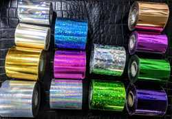 Holographic Ribbons for logo print