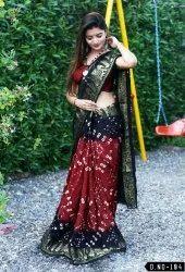 New Bandhani Saree