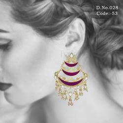 Traditional Ethnic Meenakari Earrings