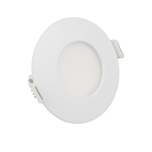 Ceramic Champion Round LED Downlight, 7 W