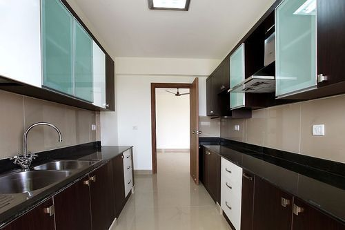 Plywood Granite Parallel Modular Kitchen, 1 Year, Rs ...