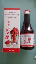 Lycopene Multivitamin Multimineral Antioxidants Syrup