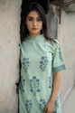 Cotton Hand Block Printed Linen Dress