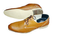 Tan, Black Men Printed Shoes, Size: 6 To 10
