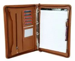 Leather Ring Binder
