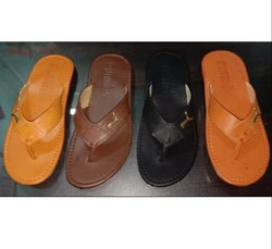 Leather Look Kolhapuri Chappal