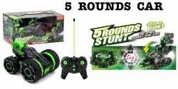 5 Round Stunt Car Toy