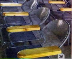 Wooden Steel Chairs