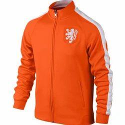 Full Sleeve Slim Fit Mens Full Zip Designer Jacket, Size: S-XXL