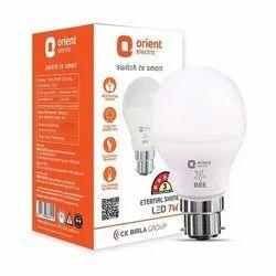 Cool daylight 7W Orient LED Bulb, 7 W