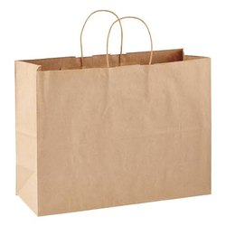Brown Sweet Shop Paper Carry Bag, for Packaging, Capacity: 1 - 5 Kg