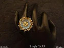 Antique Round Finger Ring
