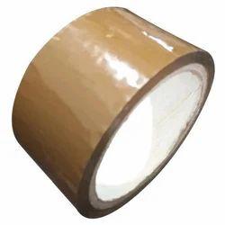 Brown Plain BOPP Self Adhesive Colored Tape, Packaging Type: Box