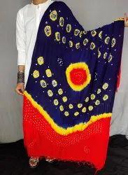 Indian Jaipuri Bandhej Cotton Dupatta