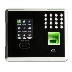 MB160 Time Attendance Face Biometric System