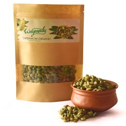 Green Organic Cardamom for Cooking