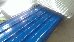 Yellow PVC Coated Aluminium And GI Sheets