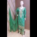 Chanderi Plazo Suits