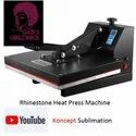 Rhinestone Pasting Heat Press Machine