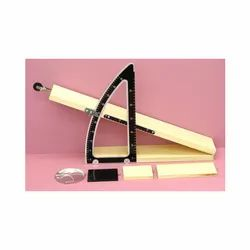 Micro Technologies Wood And Stainless Steel Inclined Plane, For Laboratory