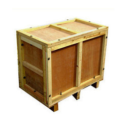 Brown Wooden Plywood Box