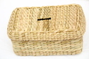 Sea Grass Tissue Box - 9 x 5.5 x 4