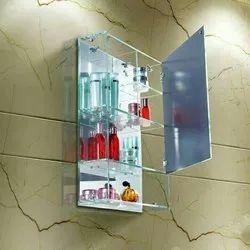 Bathroom Glass Cabinet