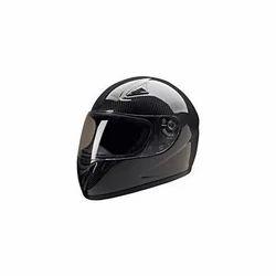 Black Carbon Fiber Helmets