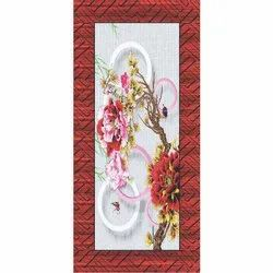 Flower Printed Door, Thickness: 25 to 30 mm