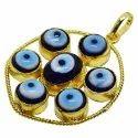 Evil Eye Pendant, Good Luck Charm, Nazar Battu, Bohemian Room Decor, House Warming Gift