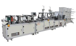 Fully Automatic Surgical Cap Face Mask Making Machine