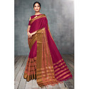 Women''S Cotton Silk Saree