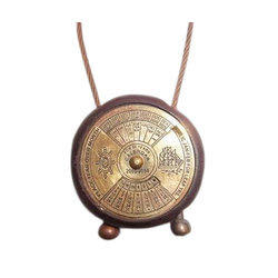Brass Pocket Calendar