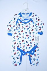 2 Pack Sleepsuit And Bodysuit With Hanger Pack