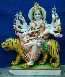 Marble Durga Mata Idol