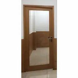 Wood and Glass Century Door