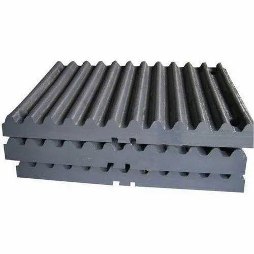 Mild Steel Crusher Jaw Plate