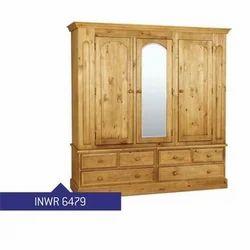 Basswood Plywood Living Room Wardrobe