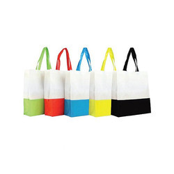 Laminated Non Woven Bag With Side Gusset