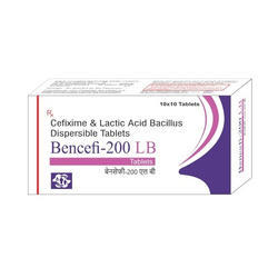 Cefixime and Lactic Acid Bacillus Dispersible Tablet