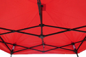 Quick Foldable Gazebo Tent - Heavy Duty - 7'x7' - Red
