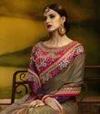 Women''S Designer Paper Silk Saree With Blouse Piece