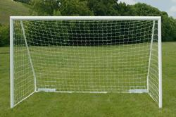 Football Goal Post 100mm 4 Inch Support Fixed