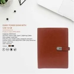 Diary Power Bank With USB 16GB