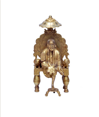 Golden Antique Shirdi Sai Baba